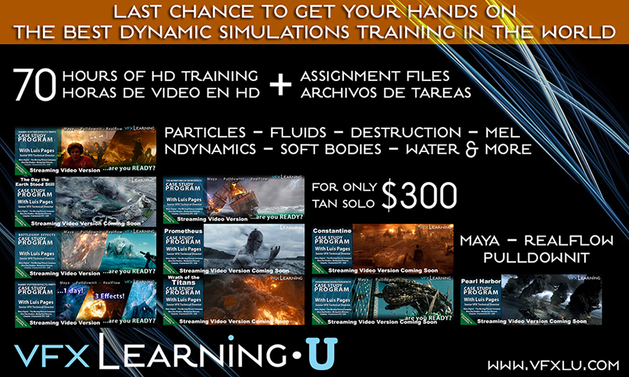 vfxlearning - case study tintin effects part 2